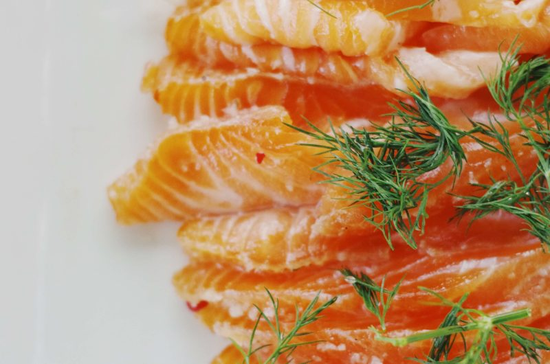 recette de gravlax de saumona
