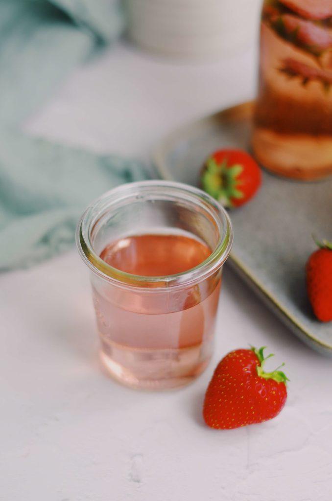 sirop queues de fraises - la recette