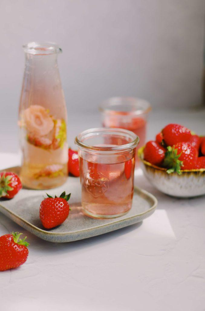 sirop queues de fraises zéro déchet recette facile