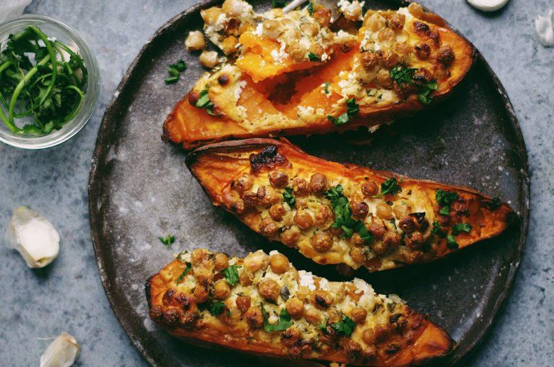 patates douces farcies la recette