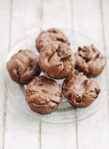 fondant au chocolat sans gluten sans lactore sans sucre raffiné