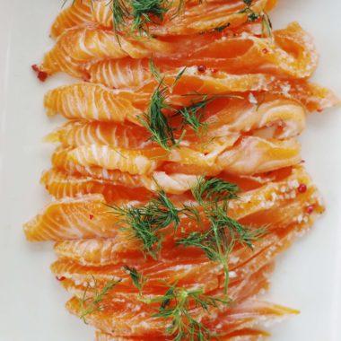recette de gravlax