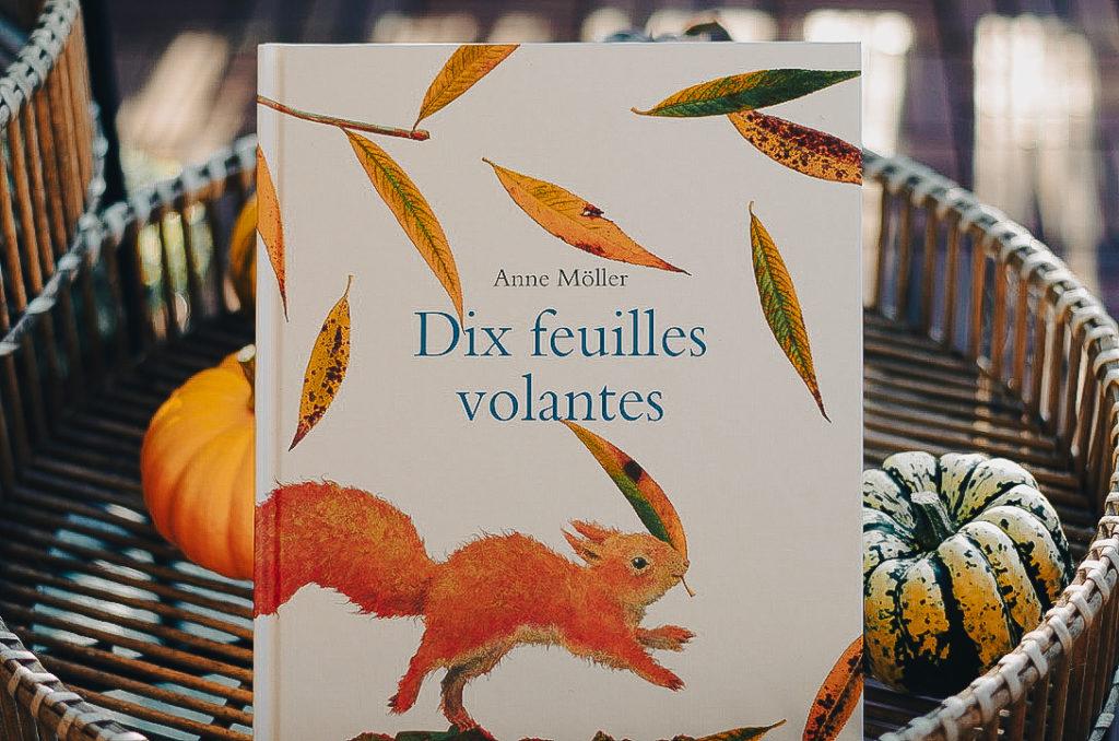 livres enfant automne - dix feuilles volantes