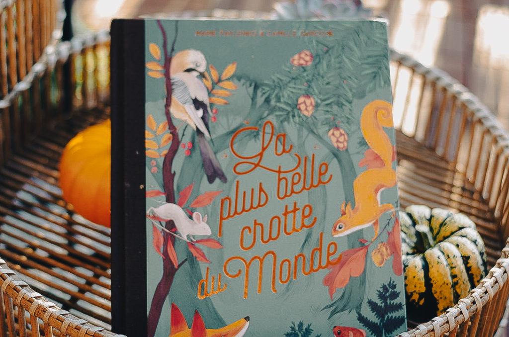 livres enfant automne - la plus belle crotte du monde