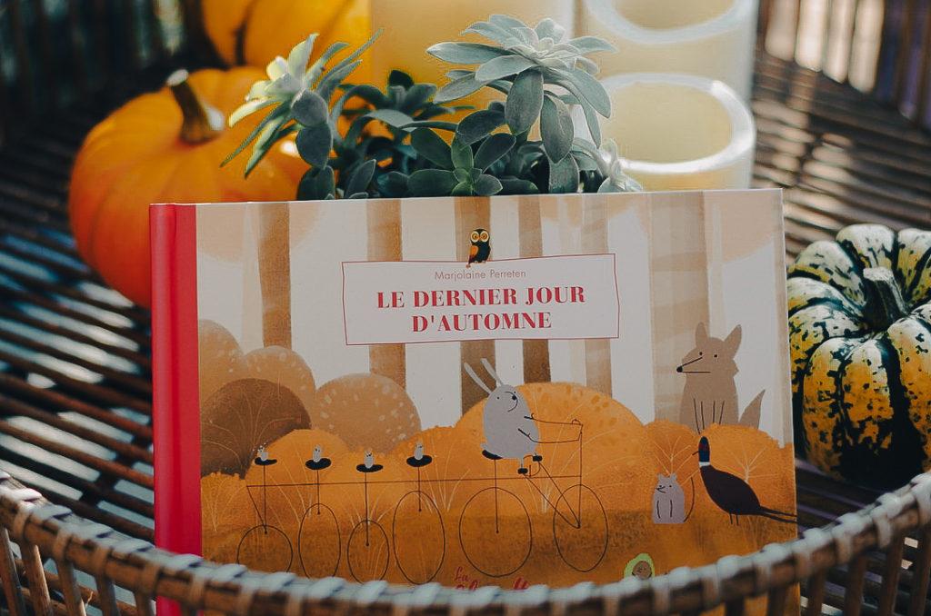 livres enfant automne - le dernier jour d'automne