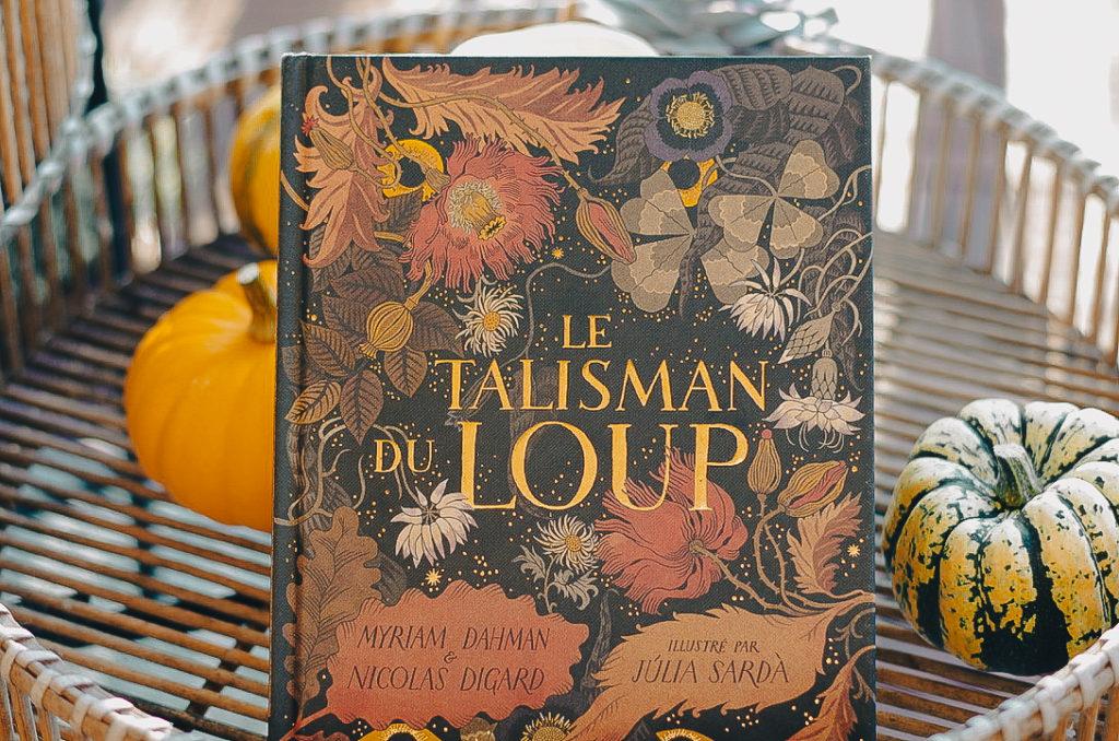 livres enfant automne - le talisman du loup