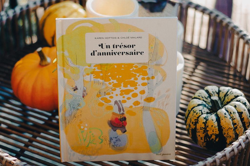 livres enfant automne - un trésor d'anniversaire